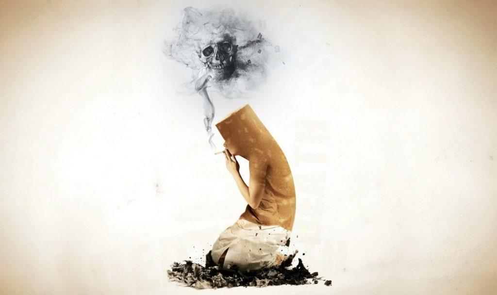не могу бросить курить